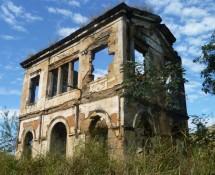 Estação Ferroviária Simplício, localizada na zona rural de Além Paraíba–MG