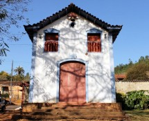 Capela Senhor dos Passos, localizada na vila de Brumal, município de Santa Bárbara-MG